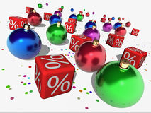Christmas Discount Stock Images