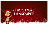 Christmas discount Stock Image