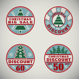 Christmas discount1 Stock Images