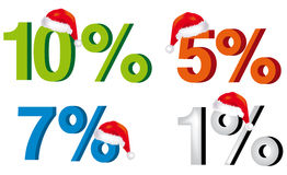 Christmas discounts Royalty Free Stock Photography