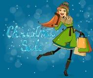 Christmas discounts Royalty Free Stock Photos