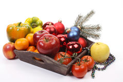 Christmas dish Royalty Free Stock Photography