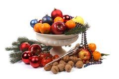 Christmas dish Stock Image