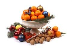 Christmas dish Royalty Free Stock Image