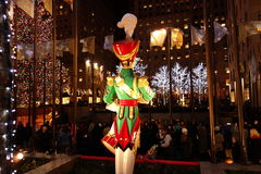 The 2014 Christmas Displays On Fifth Avenue & Rockefeller Center 33 Royalty Free Stock Photo