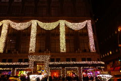 The 2014 Christmas Displays On Fifth Avenue & Rockefeller Center 50 Stock Images