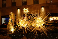 The 2014 Christmas Displays On Fifth Avenue & Rockefeller Center 49 Royalty Free Stock Image