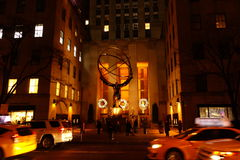 The 2014 Christmas Displays On Fifth Avenue & Rockefeller Center 14 Stock Photography
