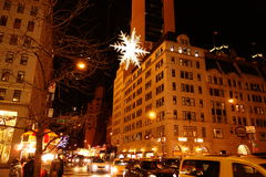 The 2014 Christmas Displays On Fifth Avenue & Rockefeller Center 10 Royalty Free Stock Photos