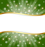 Christmas document template Stock Photo