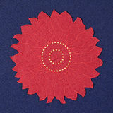 Christmas doily bis Royalty Free Stock Photo