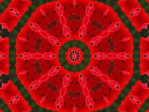 Christmas Doily Royalty Free Stock Images
