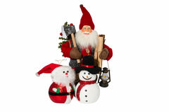 Christmas doll Stock Photography