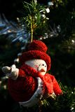 Christmas doll Royalty Free Stock Images