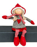 Christmas Doll Royalty Free Stock Photos