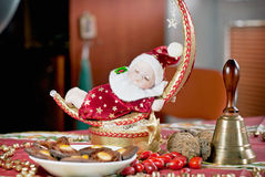 Christmas Doll with bell Royalty Free Stock Image