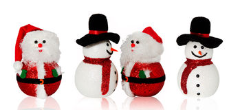 Christmas doll collection Stock Images