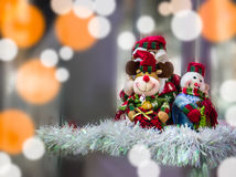 Christmas  doll decoration Stock Photos