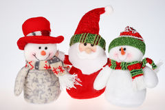 Christmas dolls royalty free stock image