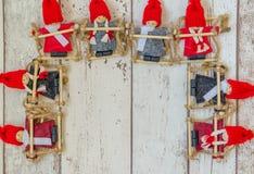 Christmas dolls Royalty Free Stock Photo