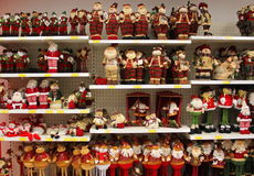 Christmas dolls Stock Photography