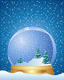 Christmas dome Stock Image