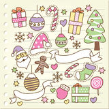 Christmas doodle Royalty Free Stock Images