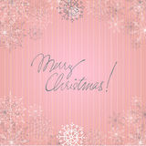 Christmas doodle greeting card design Stock Photo