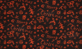 Christmas doodles Stock Photography