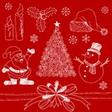 Christmas Doodles Royalty Free Stock Image