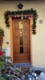 Christmas door royalty free stock photo