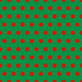 Christmas Dots Royalty Free Stock Photos