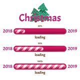 Christmas download. Before Christmas left. Vector illustration. stock image
