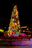 Christmas in Downtown Disney. Royalty Free Stock Images
