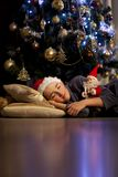 Christmas dream Stock Photos