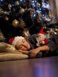 Christmas dream Stock Image