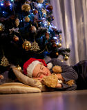 Christmas dream Stock Images