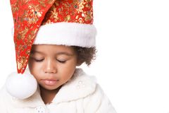 Christmas dreaming Royalty Free Stock Photos