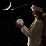 christmas dreaming στοκ εικόνες