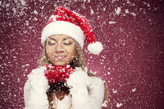 Christmas dreams Stock Images