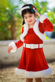 Christmas dress Stock Photo