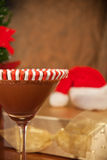 Christmas drink closeup Royalty Free Stock Photo