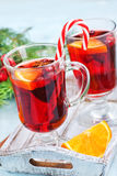 Christmas drink Royalty Free Stock Image
