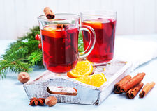 Christmas drink Royalty Free Stock Photos