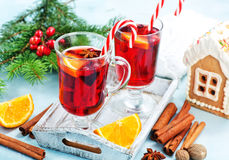 Christmas drink Royalty Free Stock Images