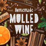 Christmas drink mulled wine Royalty Free Stock Photos