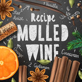 Christmas drink mulled wine Stock Photography