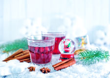 Christmas drink Royalty Free Stock Photo
