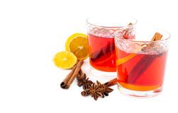 Christmas drink Royalty Free Stock Photography