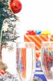 Christmas drinks Stock Photos